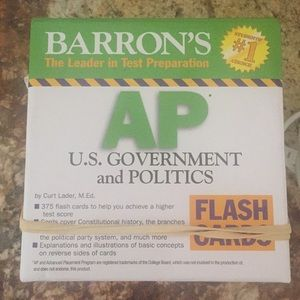 AP US Government flash cards never used